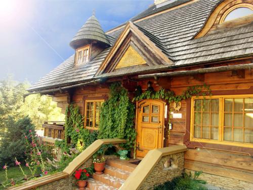 budynek drewniany Biała Wisełka
